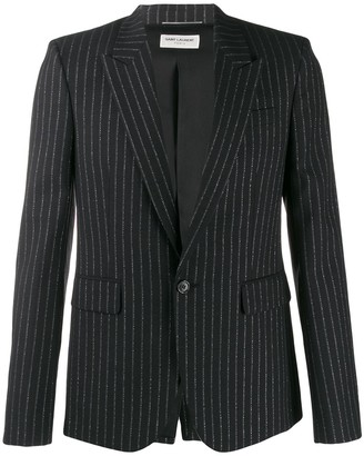 Saint Laurent Metallic Stripes Blazer