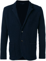 Lardini textured shawl collar jacket