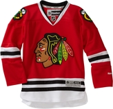 Reebok NHL Youth Chicago Blackhawks Team Color Premier Jersey - R58Hxbdd (Red, Small/Medium)