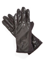 URBAN RESEARCH &Racer Back& Tech Faux Fur Lining Stretch Gloves