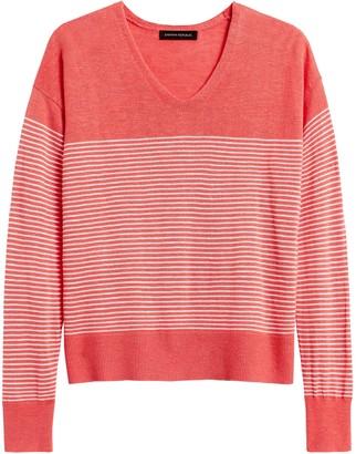 Banana Republic Relaxed Linen-Blend Sweater