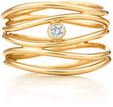 Tiffany & Co. Elsa Peretti® Wave five-row diamond ring