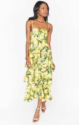 Show Me Your Mumu Savannah Ruffle Dress