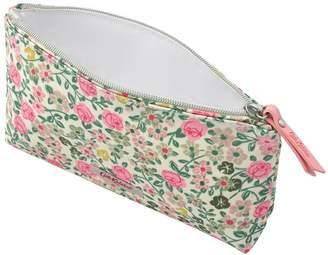 Cath Kidston Hedge Rose Matt Zip Make Up Bag