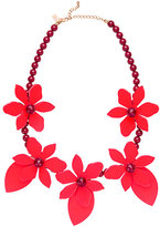 Kate Spade Lovely lilies statement necklace