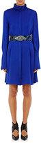 Lanvin Women's High-Neck Shirtdress-BLUE