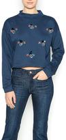 Mustard Seed Navy Blue Sweatshirt