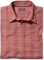 L.L. Bean Men's Signature Washed Poplin Shirt, Plaid