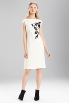 Josie Natori Crepe Dress