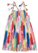 Andy & Evan Toddlers & Little Girls Brush Stroke Print Voile Dress