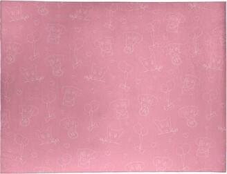 East Urban Home Handmade Pink Area Rug Rug Size: Rectangle 9' x 12'