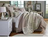 Villa by Noble Excellence Tavares Floral & Striped Patchwork Quilt Mini Set