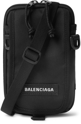 Balenciaga Explorer Logo-Appliqued Canvas Messenger Bag