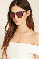 Forever 21 FOREVER 21+ Abstract Round Sunglasses