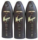 Magno 3 Bottles of Shower Gel 18.3oz./550ml