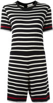 Chinti and Parker Breton stripe playsuit - women - Merino - XS