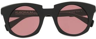 Kuboraum Two-Tone Oversized-Frame Sunglasses