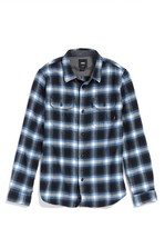 Vans Boy's Beechwood Plaid Flannel Shirt