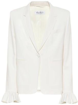 Max Mara Daphne stretch-wool crepe blazer