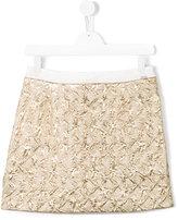 Kenzo straight skirt - kids - Cotton/Polyester - 14 yrs