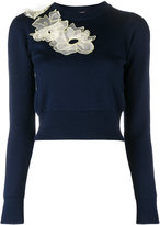 Roksanda Nobuya floral applique jumper - women - Wool - L