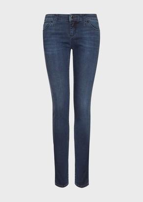 Emporio Armani J06 Super-Skinny, Stretch Denim Jeans