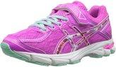 Asics GT 1000 4 PS PR Running Shoe (Toddler/Little Kid), Pink Glow/Hot Pink/Pink Ribbon