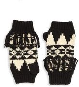 Ralph Lauren Kid's Fringe Fingerless Gloves