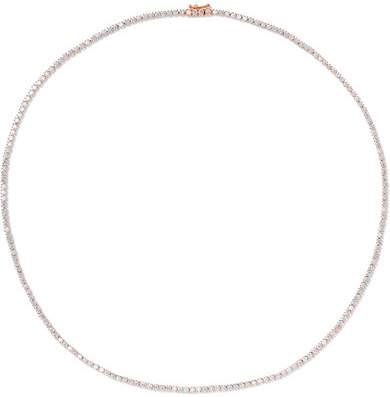 Anita Ko Hepburn 18-karat Rose Gold Diamond Choker