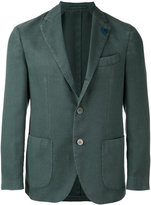 Lardini two button jacket - men - Silk/Polyester/Cashmere/Wool - 52