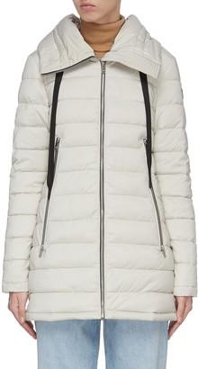 Moose Knuckles 'Trophy' oversize hood long puffer jacket
