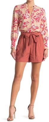 FRNCH Tie Waist Shorts