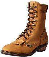 "AdTec 9224 9"" Packer Tan Work Boot"