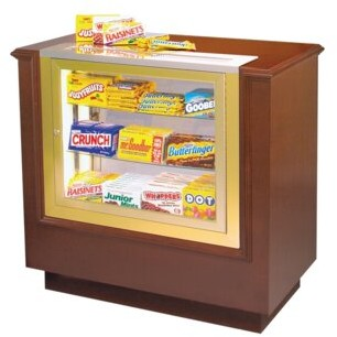 Bass Hardwood Concession Counter Film Strip Accent: No, Wood Finish: American Cherry