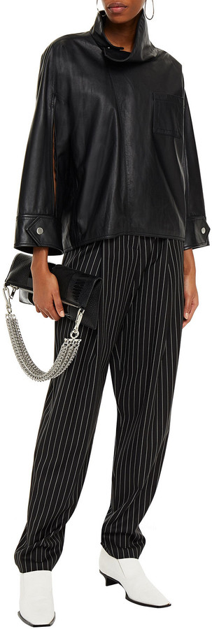 Thumbnail for your product : 3.1 Phillip Lim Leather Shirt