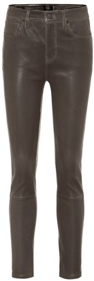 Citizens of Humanity Harlow high-rise leather pants
