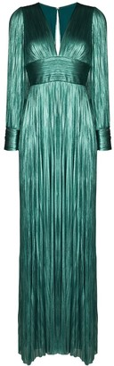 Maria Lucia Hohan Lidia pleated gown