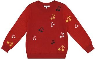Bonpoint Intarsia wool sweater