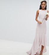 TFNC Tall Tall Maxi Bridesmaid Dress With High Low Hem