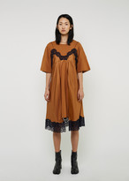 Maison Margiela Silk Slip & T-Shirt Dress