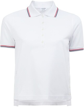 Thom Browne Mercerized Pique Polo Shirt