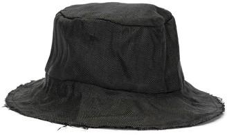 REINHARD PLANK Oust woven fedora hat