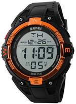 gosasa menu0027s digital sports watch led screen large face military watches and waterproof casual luminous stopwatch simple