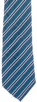 Moschino Silk Striped Tie w/ Tags