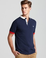 Fred Perry Color Block Slim Fit Polo