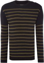 Replay Striped Cotton Jumper
