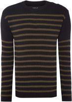 Replay Men's Striped cotton jumper