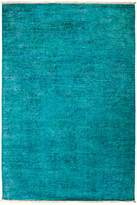 Solo Rugs Vibrance Overdyed Area Rug, 4' x 5'9""