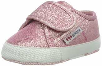 Superga Girls 4006-microlamestrapsb Birth Shoes
