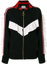 Laneus zipped cardigan